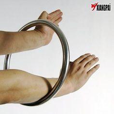 Wing Chun Kung Fu IP Man Chi Sau Sticky Hand Strength Training Steel Rattan Ring   eBay