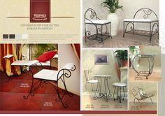 Каталог кованой мебели производство стулья столы