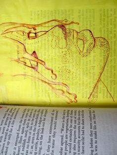 Philip Kiszel: book drawings, it is nice!