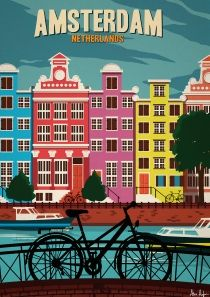 Alex Asfour Art print Amsterdam