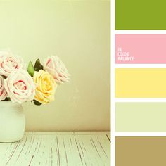 Perfect for Shabby chic design -  lovely vintage color theme