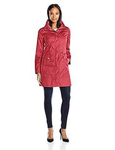 Cole Haan Packable Raincoat.  Sale $119. Great Reviews.