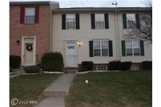 Affordable townhome 178 Laurier Dr, Westminster, MD $124,900