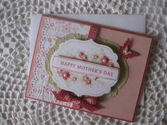 Handmade Greeting Card Happy Mother's Day by ConroysCorner on Etsy, $4.25