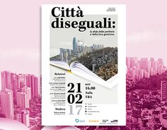 "Check out new work on my @Behance portfolio: ""Città Diseuguali - Poster for Bocconi University"" http://be.net/gallery/47366859/Citta-Diseuguali-Poster-for-Bocconi-University"