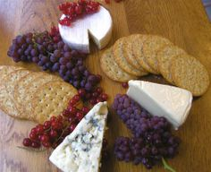 Anatomy of a Cheese Platter
