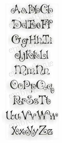 Bows Curly Cute Embroidery Alphabet Monogram Set- Machine Embroidery Font Letters Instant Down Hand Lettering Alphabet, Doodle Lettering, Creative Lettering, Lettering Styles, Calligraphy Letters, Caligraphy, Modern Calligraphy, Embroidery Alphabet, Cute Embroidery