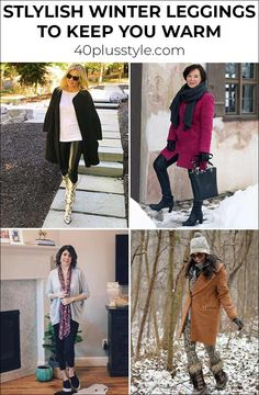 You don't have to stop wearing your leggings in winter. Here are the best winter leggings fleece lined leggings to keep you warm. Fleece Leggings, Velvet Leggings, Warm Leggings For Winter, Cold Weather Leggings, Thick Black Leggings, Tummy Control Leggings, Thermal Leggings, Long Tunic Tops
