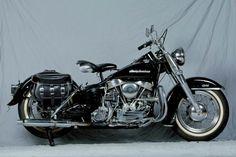 Vintage Harley Davidson, Harley Davidson Motorcycles, Harley Panhead, Hd Motorcycles, Baby Bike, Old Bikes, Vintage Bikes, Retro Cars, Custom Bikes