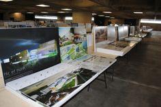 Arkkitehtuurikilpailun näyttely