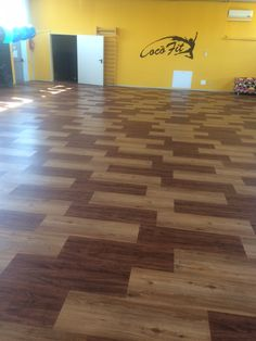 Gym CocoFit - Lendinara (Rovigo) Italy Country Tradition Classic (CT1702) combined with Country Vintage (CT1709 ) LVT Flooring.