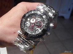NEW Invicta Mens 15996 Subaqua Analog Display Swiss Quartz Silver Watch