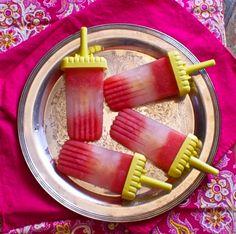 Watermelon-Mint Tequila Popsicles