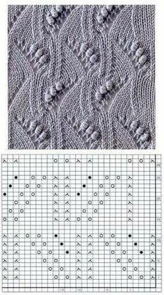Most recent Cost-Free Knitting Stitches chart Thoughts Knitters be aware that when you undertake a task, it is recommended to be ready to discover some thing new. Knitting Room, Lace Knitting Stitches, Shawl Patterns, Crochet Stitches Patterns, Knitting Charts, Free Knitting, Stitch Patterns, Ravelry, Couture