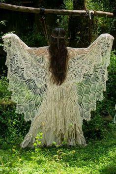 Beautiful! I name her The White Peacock Fairy :) !                              …