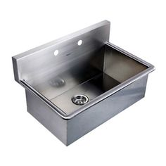 Commercial Sinks Ireland : Whitehaus Noahs Collection 31 Inch Commercial Drop-In Laundry Sink