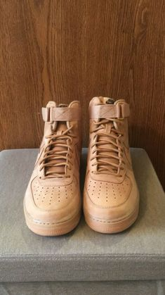 new products 5e816 db9a2 Nike Air Force One High Wheat (2016) Men s 9.5 - Only tried on once
