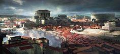 Romano Impero: URBANIZZAZIONE DELL'IMPERO