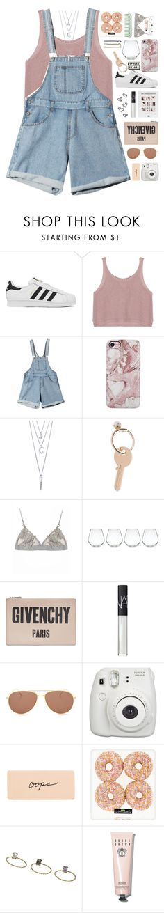 """""""Requests! // desc."""" by mel2016 ❤ liked on Polyvore featuring adidas, BERRICLE, Maison Margiela, Kate Spade, Givenchy, NARS Cosmetics, Illesteva, Guide London, Fujifilm and Topshop"""