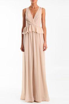 Tibi Arabella V-Neck Dress, $675, available at Tibi, 120 Wooster Street (at Prince Street); 212-226-5852.