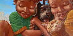 African American Love Couples Art | It's A Black Thang.com - Kadir Nelson Art work - African American Art