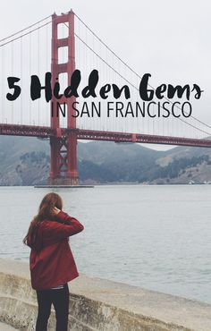 Hidden gems in San Francisco. These are must-sees that aren't your typical Lombard Street and Golden Gate Bridge! Via Shanndelier.com                                                                                                                                                                                 More