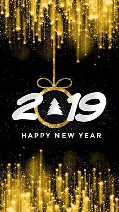 Iphone X Wallpaper Happy New Year 2018 Wallpapers Pinterest