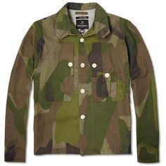 Shirt jacket, NIGEL CABOURN