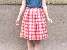 Skládaná sukně krok za krokem   Jana Admin 0ae87c25a1