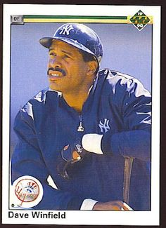1990 Upper Deck 337 Dave Winfield -- This is an Amazon Affiliate link. Visit the image link more details.