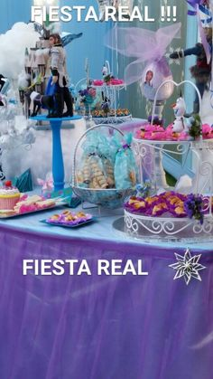 Frozen de Lujo hecho por : Fiesta Real de Carla Ramirez Victorio