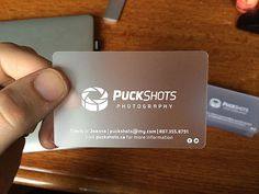 Puckshots Business Card | Business Cards | The Design Inspiration