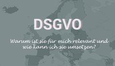 Die Datenschutzgrundverordnung (DSGVO) greift ab 25. Mai 2018 EU-weit: Doch was ist die DSGVO genau, warum ist sie für mich relevant und wie kann ich sie umsetzen? Hier gebe ich einen Überblick, v. a. für die eigene Website bzw. den eigenen Blog mit WordPress, und verweise auf gute Artikel und Tests zur DSGVO.