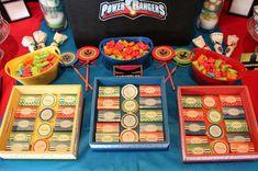 Power Rangers Birthday Party Ideas | Photo 10 of 10