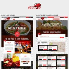 CREATORS! Need an EPIC website design for LA CRAWFISH restaurant! by Jasmin_VA