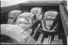 Importation of VW Beetle in Oslo - Norway #vintage #volkswagens