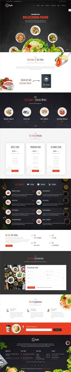The Zayka is a premium 5in1 responsive #HTML5 bootstrap template, designed for #Restaurant, Food & Cafe #websites with animated sliders download now➩ https://themeforest.net/item/the-zayka-multipurpose-restaurant-food-cafe-html5-template/19438643?ref=Datasata