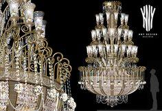 Large Contemporary Chandeliers K 5059 Luxury Lighting Style by Kny Design Austria www.kny-design.com Luxury Lighting, Fashion Lighting, Lighting Design, Crystal Chandeliers, Contemporary Chandelier, Lighting Solutions, Hearth, Austria, Swarovski Crystals