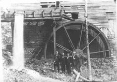 This was Shankle mill on Steeles creek, Bristol Tn. No longer standing.