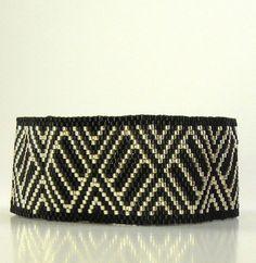 Peyote Bracelet, Back to Basics, Tutorial, Pattern