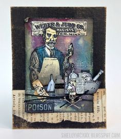 New Stamps From Tim Holtz & Stampers Anonymous!