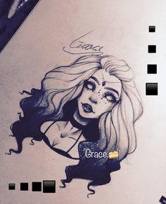 Creepy sketch :P < so pretty + blank or glass eyes