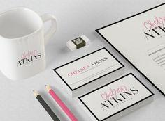 Logo and Website Design :: Chelsea Atkins Photography - Saffron Avenue.