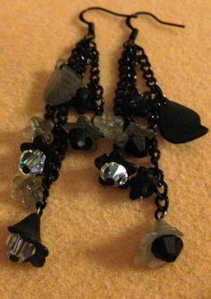 Earrings Handmade Beaded Jewelry Swavorski by JewelrywithPassion, $17.00