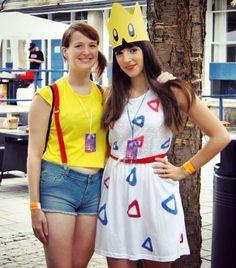 #TBT to my #togepi #cosplay! #Pokemon #anime #fancydress #dressup #DIY #costume…