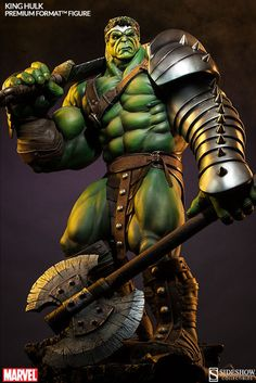 King HulkPremium Format Figure by Sideshow Collectibles