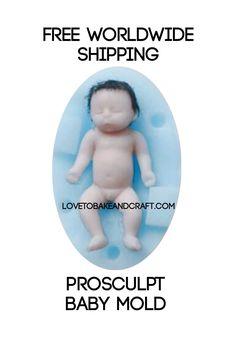 Prosculpt, Prosculpt baby, Prosculpt doll, sculptured baby, sculptures doll, from lovetobakeandcraft.com