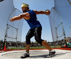 workout plan for discus throwers