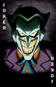 Batman Artwork, Batman Comic Art, Im Batman, Batman Universe, Dc Universe, Joker Pics, Joker Card, Batman The Animated Series, Dc Comics Art