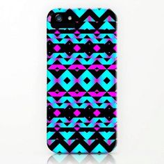 Colorful Neon Pink iPhone 5 Case for Girls